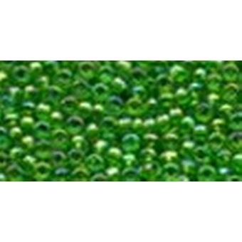 Mill Hill Glass Seed Beads 4.54g-Christmas Green