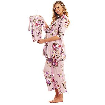 Analise 5-Piece Mom and Baby Maternity and Nursing PJ Set