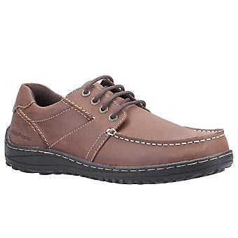 Hush Puppies Theo Mens Lace Up Moccasin