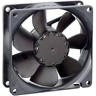EBM Papst 8412N Axial fan 12 V DC 65 m³/h (L x W x H) 80 x 80 x 25.4 mm