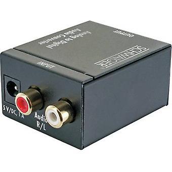 Schwaiger AV Converter ADW100513 [RCA - Toslink, Coaxial]