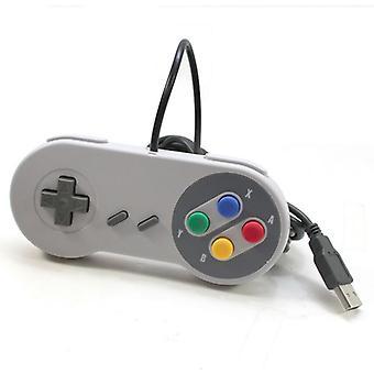 USB רטרו סופר נינטנדו SNES בקר Jopypads עבור Win PC/MAC Gamepad