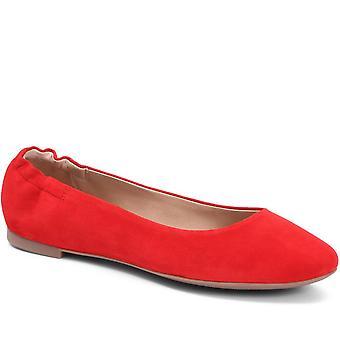 Jones 24-7 Flat Leather Ballerina