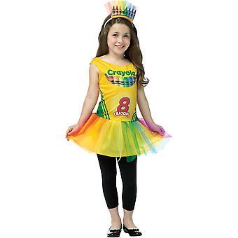 Crayola Box barn kostym