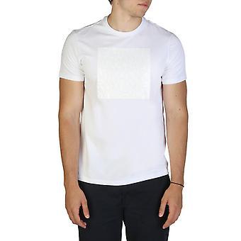 Man cotton short t-shirt round t-shirt top ae47703