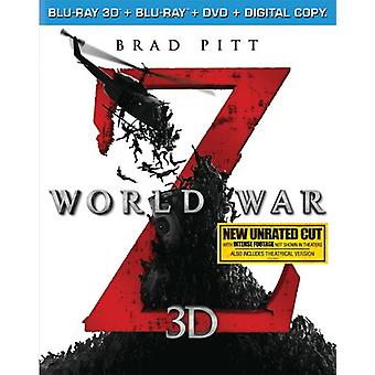 World War Z 3D [BLU-RAY] USA import