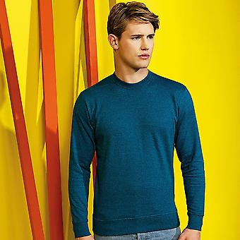 Asquith & Fox Mens Cotton Rich Twisted Yarn Sweatshirt
