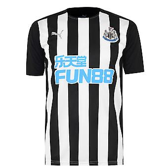 Puma Mens Newcastle United Home Shirt 2020 2021 Fußball Training Top dryCELL