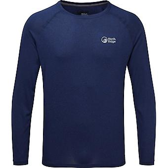 North Ridge Men's Resistance Long Sleeve Baselayer Navy