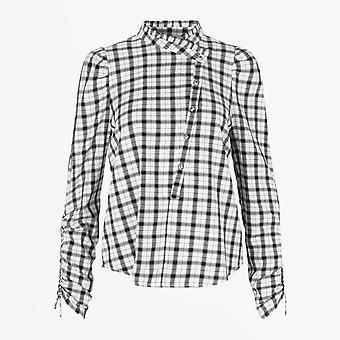 Munthe  - Checked Shirt - White