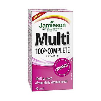 Multi 100% Complete Women 90 tablets