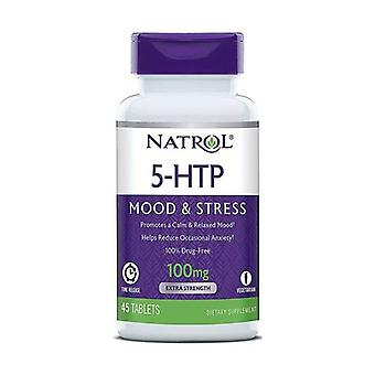 5-HTP Time Release, 100 mg 45 onglets
