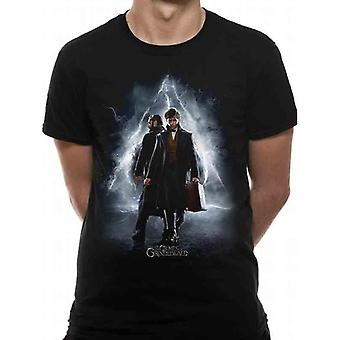 Crimes Of Grindelwald Unisex Adults Film Poster T-Shirt