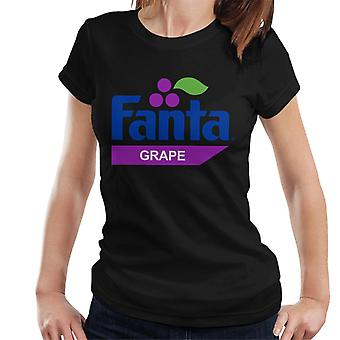 Fanta Grape retro 1980 logo kvinnors T-shirt