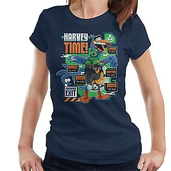 Angry Birds Harvey Time Women's T-Shirt