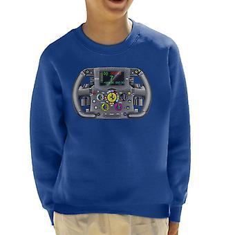 Immagini Motorsport Ferrari F14 Steering Wheel Kid's Sweatshirt