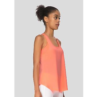 Jerf  Womens Glifa Neon Coral Active Top