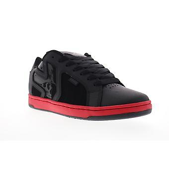 Etnies Metal Mulisha Fader 2 Mens Black Low Top Lace Up Skate Sneakers Shoes