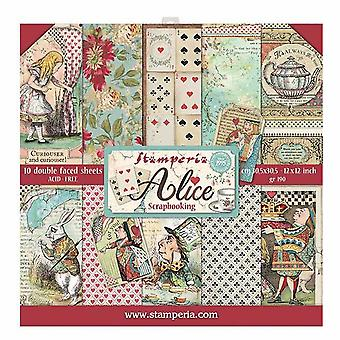 Alice 12x12 Inch Paper Pack (SBBL52)