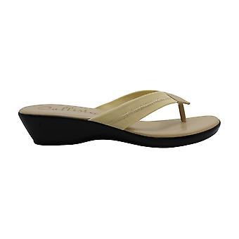 Callisto Womens Yazmine Open Toe Casual Slide Sandals