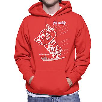 Aggretsuko Full Blown Rage Men's Hooded Sweatshirt