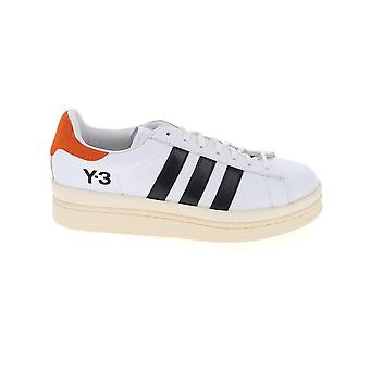 Y-3 Fx1747c Men's White Leather Sneakers