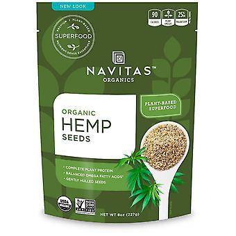 Navitas Organics, Organic Hemp Seeds, 8 oz (227 g)