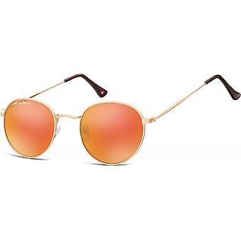 Sunglasses Unisex Cat.3 Gold (MS92E-XL)