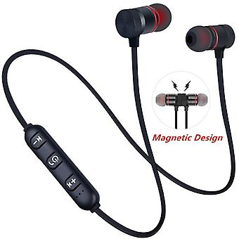 Magnetic Wireless 5.0 Bluetooth Neckband Earphone Sports With Mic For All