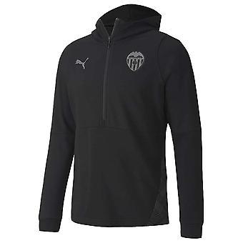 2020-2021 Valencia Casuals Huppari (Musta)