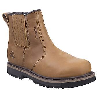 Amblers Men-apos;s Kennoway Dealer Boot Brown 27121