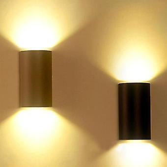 Luz de Parede Led - Decoração Moderna de Alumínio À Prova d'Água ao Ar Livre