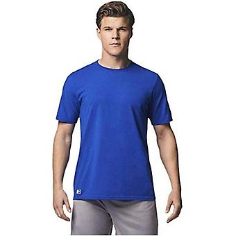 Russell Athletic Men's Performance Cotton Short Sleeve T-Shirt, Kelly, 4XL
