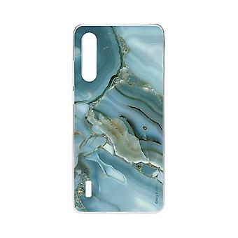 skrog for xiaomi mi 9 lite myk effekt marmor design