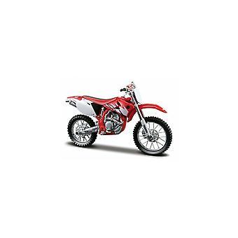 Maisto Special Edition Motocykl 1:18 Yamaha YZ-450F Czerwony i biały