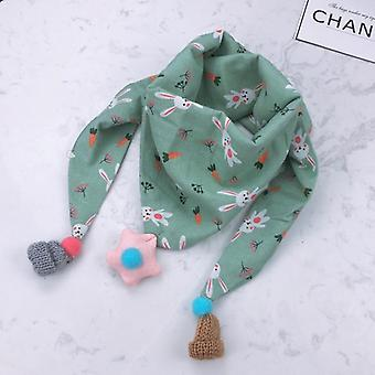 Baby Triangle Bib Scarves - Autumn Winter Shawl, Cotton Neck Collars Warm Kids