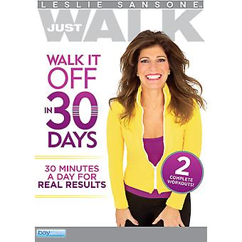 Walk It Off in 30 Days [DVD] USA import