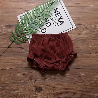 Kleinkind Kinder Harem Hose - Baumwolle Leinen Shorts, Neugeborenes Baby / kurze Hose Pp