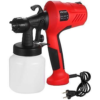 Electric Paint With Detachable Airbrush, Eu Plug Speed Regulation Sprayer