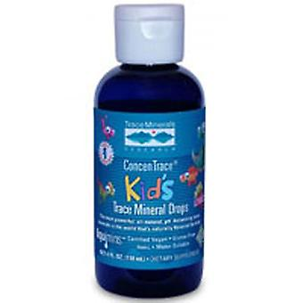 Trace Minerals ConcenTrace Kid's Trace Mineral Drops, 4 oz