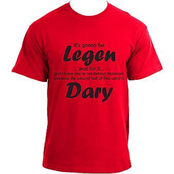 "himym Barney Stinson Legendary ""Wait for it"" TV Series Inspired Funny T-Shirt"