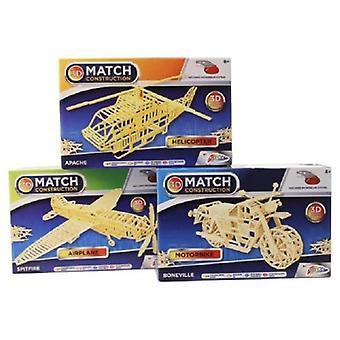 Grafix Matchstick Construction Set Assortment
