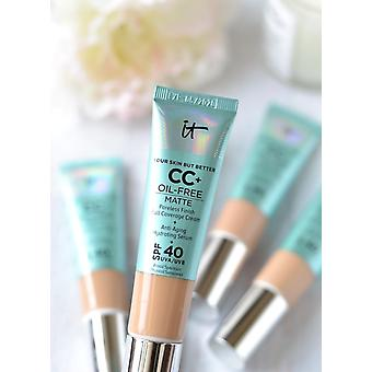 IT Cosmetic Your Skin But Better CC+Oil Free Matte Foundation SPF 40