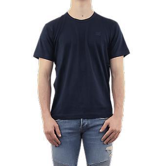 Acne Studios NASH FACE T-SHIRTS Blue 25E173NAVY Top