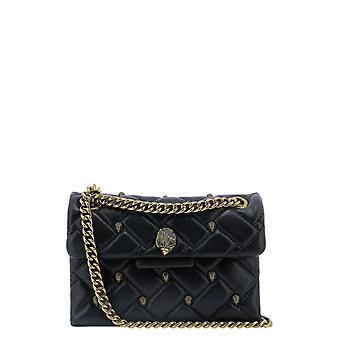 Kurt Geiger Kga226900910909 Women's Black Leather Shoulder Bag