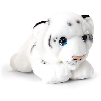 Keel Signature Cuddle Wild White Tiger 32cm