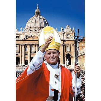 Papst Johannes Paul II-Erbauer der Brücken-Film-Poster (11 x 17)