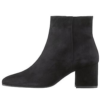 Högl 0-10 4102 Properly Ankle Boots In Black Suede