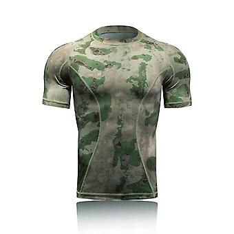 Military Tactical Shirt, Short Sleeve Combat T-shirts Men