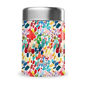 "Insulated lunch box - ""Arty"" Collection by Lou Ripoll 340 ml"